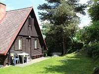 Chata k pronájmu - dovolená Přehrada Kamýk rekreace Kamenice