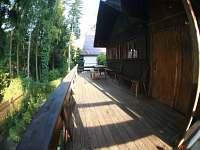 Terasa - chata k pronájmu Hřiměždice