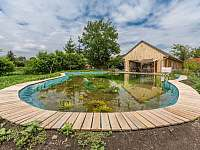 propojení zahrady a domu - chalupa ubytování Kamenné Zboží
