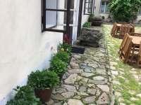 Vstup do apartmánů 1 a 2 - ubytování Kutná Hora - Svatý Mikuláš