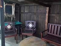 Posezení u sauny