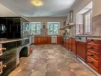Kuchyň - pronájem rekreačního domu Drevníky