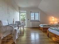 Pokoj č. 2 s balkonem - Drevníky