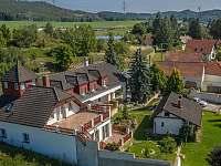 Tréninkové centrum Slapy - rekreační dům ubytování Drevníky