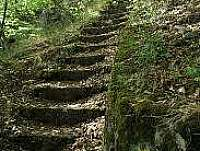 schody do Psaných skal