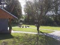 Zahrada - chalupa ubytování Bohutín