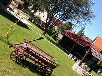 Zahrada - pronájem chalupy Bohutín