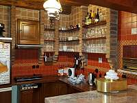 Bar-kuchyňka v hospůdce - pronájem chalupy Třebestovice