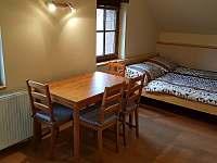 Pokoj v domě - pronájem chalupy Třebestovice