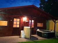Relaxační domeček se saunou - chalupa k pronájmu Třebestovice