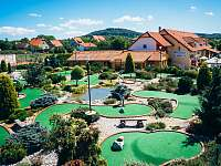 Adventure golf U Radešínka Počepice - apartmán ubytování Počepice