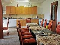 Společenská místnost v penzionu - Počepice