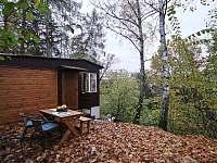chata na podzim - k pronajmutí Velké Popovice