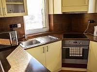 Kuchyň - chalupa ubytování Prčice
