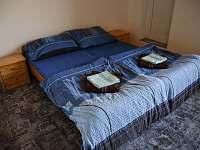 Pokoj č.1 v patře - chalupa k pronájmu Prčice