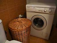 Pračka v přízemí - Prčice