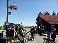Cyklovýlet do Brd CYKLISTÉ VÍTÁNI