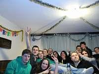 silvestrovský pobyt skupina přátel - Příbram - Láz