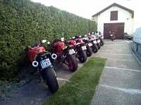 Sraz motorkářů - Příbram - Láz
