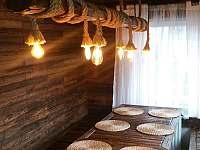Jídelna - pronájem chaty Měřín