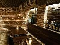 Vinárna - chata ubytování Měřín