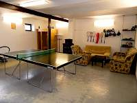 Relaxační místnost s posilovnou