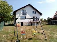 dětské houpačky - rekreační dům ubytování Sázava - Černé Budy