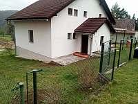 pohled z ulice - rekreační dům k pronájmu Sázava - Černé Budy