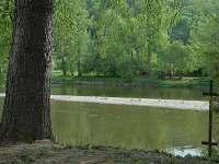 pohled na řeku od chaty