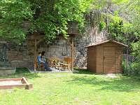 posezení u chaty