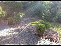 Zahrada - chata ubytování Sázava