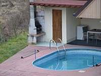 bazén po sezoně