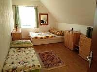 Chata Loužek - ložnice