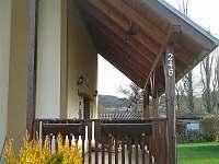 Terasa - chata k pronajmutí Chodouň