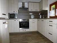 nová kuchyně - chata k pronájmu Lipno - Hůrka