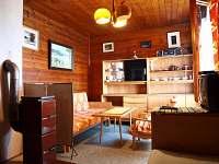 Obývací pokoj chata č. 18