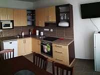 kuchyně - apartmán k pronajmutí Modrava
