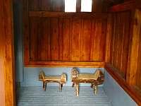veranda - apartmán k pronajmutí Modrava