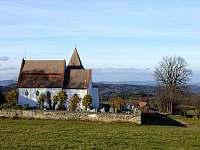 Kostel v Albrechticích z 12 století -