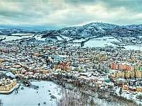 Sušice v zimě - Albrechtice u Sušice