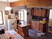 kuchyně - chalupa ubytování Nuzerov