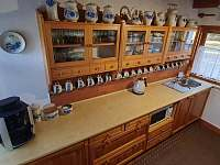 Kuchyně - chalupa k pronajmutí Nové Hutě