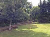 Zahrada - chalupa k pronájmu Nové Hutě