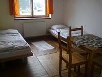 Pokoj s oddělenými postelemi - ubytování Nové Hutě