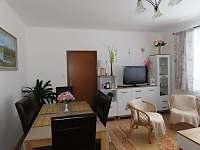 Obývací pokoj - pronájem apartmánu Nové Hutě