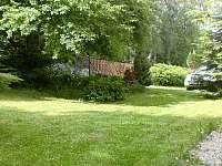 Zahrada - pronájem apartmánu Nové Hutě