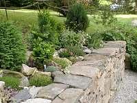 Zahrada - apartmán ubytování Nové Hutě