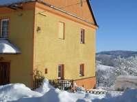 chalupa v zimě - Petrovice u Sušice - Strunkov