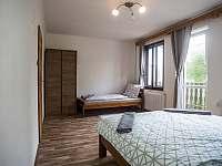 ČTYŘKA - ložnice - apartmán k pronajmutí Čachrov - Kunkovice
