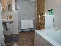 DVOJKA - koupelna - pronájem apartmánu Čachrov - Kunkovice